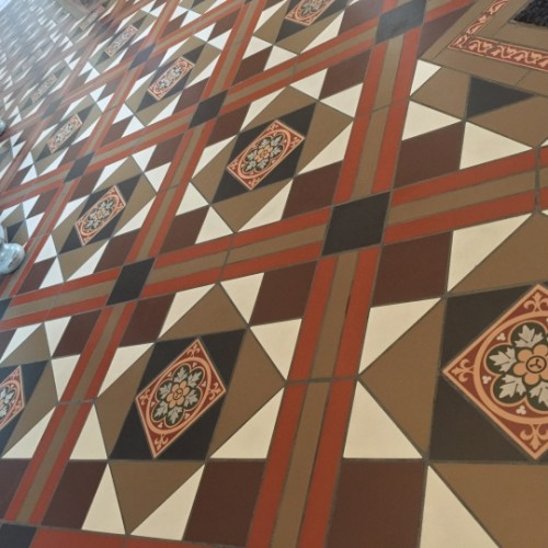 Project Original Style Victorian Floor Tiles Kelleher Flooring