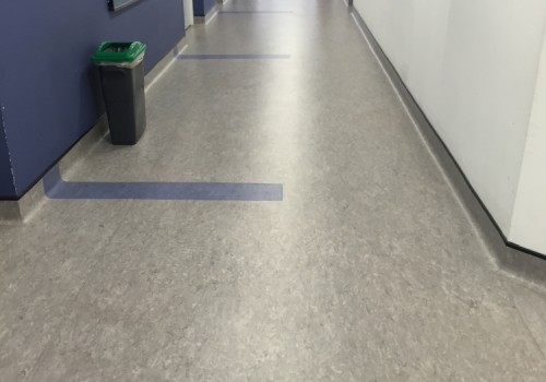 Project:   University Of Portsmouth. Anglesea Building Corridors