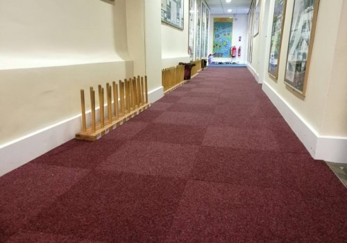 Project:   New Carpet Tiles At Camelsdale Primary School, Horsham.