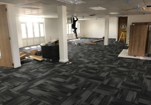 Project:   Office Refurbishment At Town Quay, Southampton.