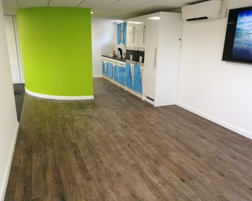 Project:   Office Refurbishment In Chandlers Ford, Southampton.