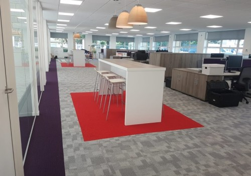 Project:   National House Builder's Refurbished Cardiff Office.