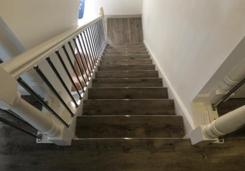 Project:   Stairrods LVT Nosing Trims, Hayling Island.