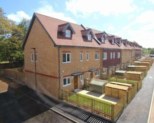 Project:  40 New Homes In Horsham Completed